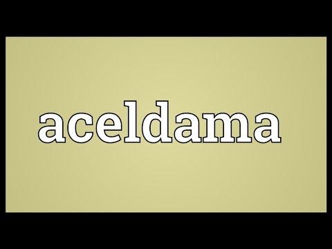 Header of Aceldama