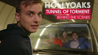 Hollyoaks Tunnel of Torment - Behind the Scenes