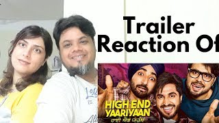 #highendyaariyan High End Yaariyan Official Trailer Reaction |Foreigner VS Indian reaction|