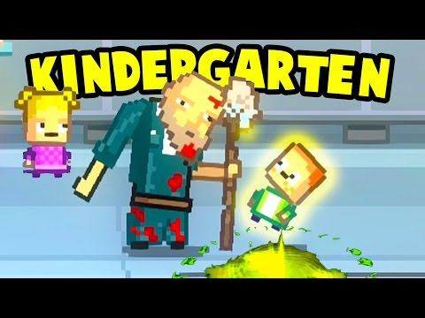 Kindergarten - THE JANITOR HEALS MONTY! Weird Show and Tell Items - Kindergarten Gameplay Ep 11