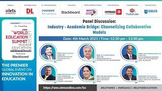 Elets Exclusive: Industry - Academia Bridge: Channelizing Collaborative Models