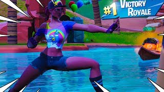 New BEACH BOMBER Skin Gameplay In Fortnite Battle Royale..