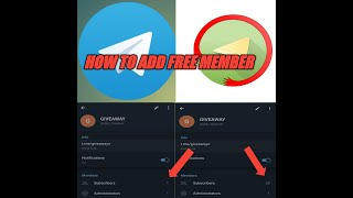 HOW TO ADD UNLIMITED MEMBER'S IN TELIGRAM CHANNEL 100% FREE TRICK || Teligram Free Subscriber || screenshot 1