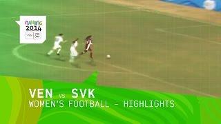 Venezuela vs Slovakia - Women