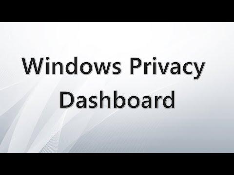 Windows Privacy Dashboard — управление конфиденциальностью Windows