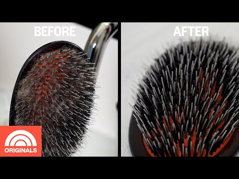 How To Clean Your Hairbrush | TODAY