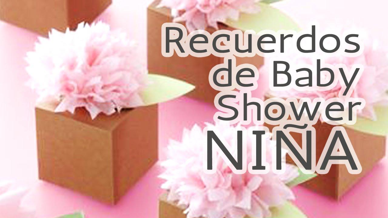 40 Ideas Recuerdos para Baby Shower *Nia* HD - YouTube