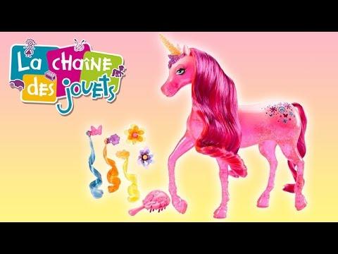 Barbie licorne magique youtube - Barbie licorne ...