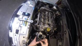 Saab 9-3 9-5 1.9 TID 150 EGR Removal and Cleaning Z19DTH Vauxhall Astra Vectra CDTI