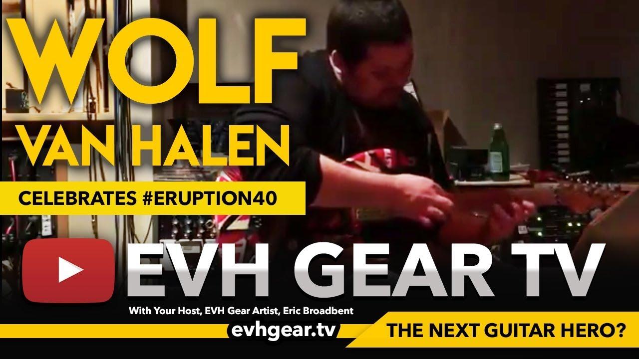 Eruption Guitar Solo Performed On Original Frankie By Wolfgang Van Halen Youtube