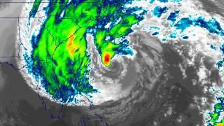 Hurricane Sandy, Lagrangian View, 22-30 October 2012, GOES-East 10.7 µm