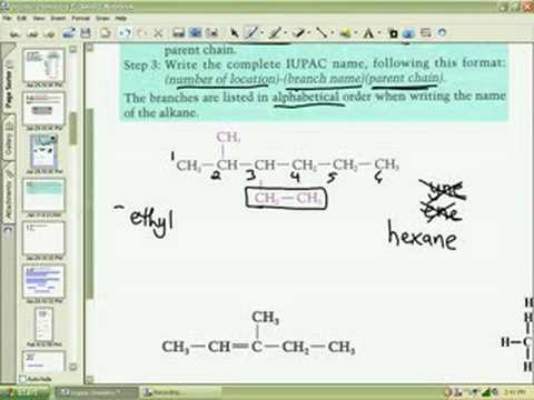 Naming Hydrocarbons 1