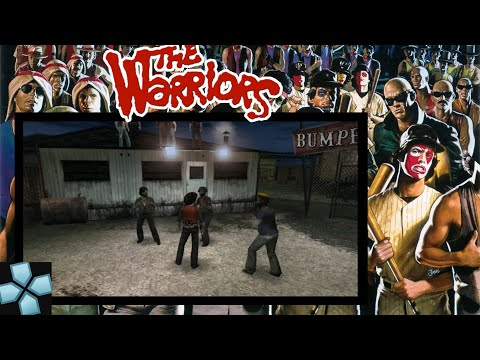 PPSSPP The Warriors High Compressed (500 Mb) | 60 Fps Gameplay