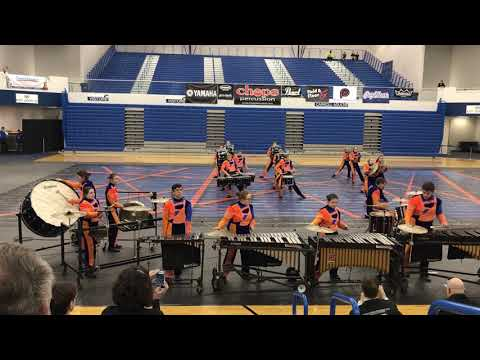 Angola Indoor Percussion 2018 Show: Intersections