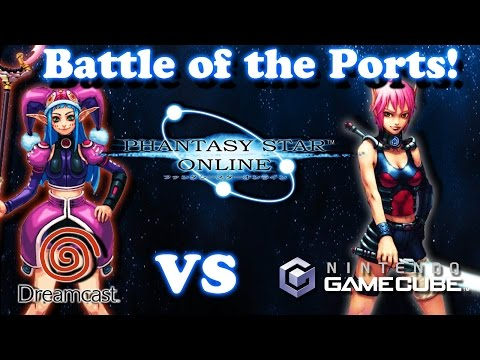 [Battle of the Ports] - Phantasy Star Online - Dreamcast Vs