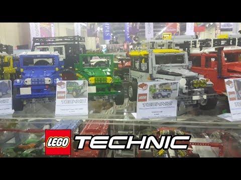 Lego Technic Car Hauler - Lego Technic - hauler at Toys and Comic Fair 13th Jakarta Indonesia 2018