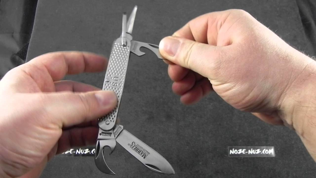 MR278 Marbles GI Utility Knife