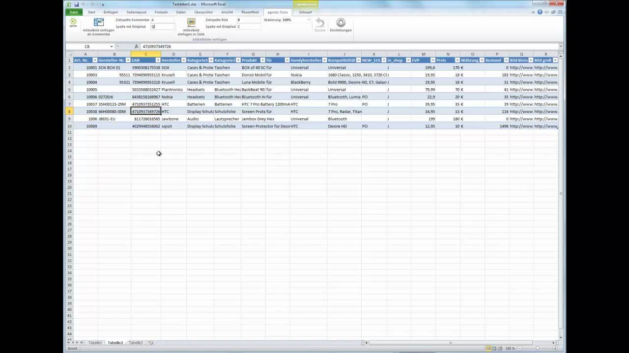 Excel - Bilder Kommentare automatisch in Excel Tabellen - images ...