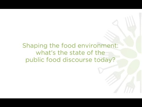 How is public understanding of food and health changing? What's the role of Canada's new Food Guide?