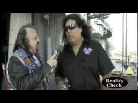 Testament's Chuck Billy at Slaughter By The Water 8/25/12
