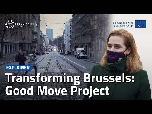 How does the 'Good Move' project aim to transform mobility in Brussels? | With Elke Van den Brandt