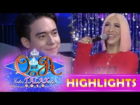 It's Showtime Miss Q & A: Vice Ganda Asks Hashtag Jameson About The Status Of His Heart