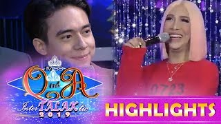 It's Showtime Miss Q \u0026 A: Vice Ganda asks Hashtag Jameson about the status of his heart