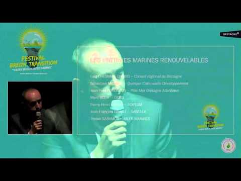 Conférence Energies marines renouvelables