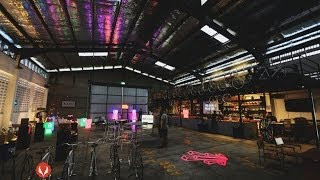 The Neon Refinery pop-up dining experience in Singapore for American Express | Clubvivre