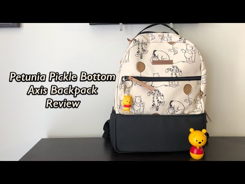 Petunia Pickle Bottom Axis Backpack Winnie The Pooh And Friends Review!