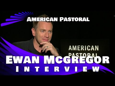 American Pastoral- Ewan McGregor Interview