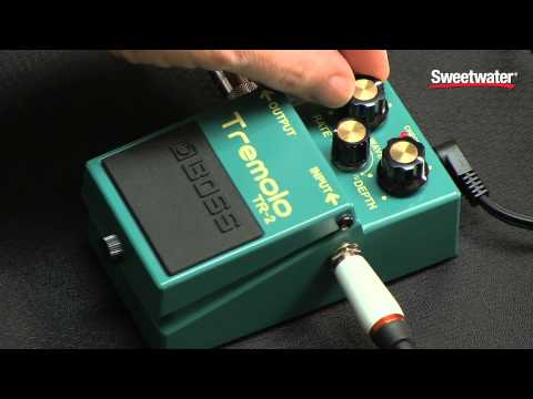 BOSS TR-2 Tremolo Pedal Review by Sweetwater