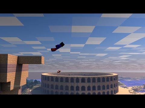 El cañon mas epico del mundo - skywars