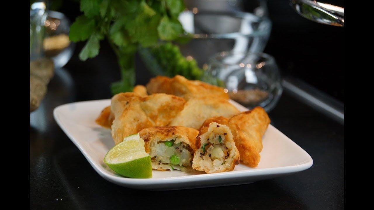 samoussas recette indienne v g tarienne herv cuisine