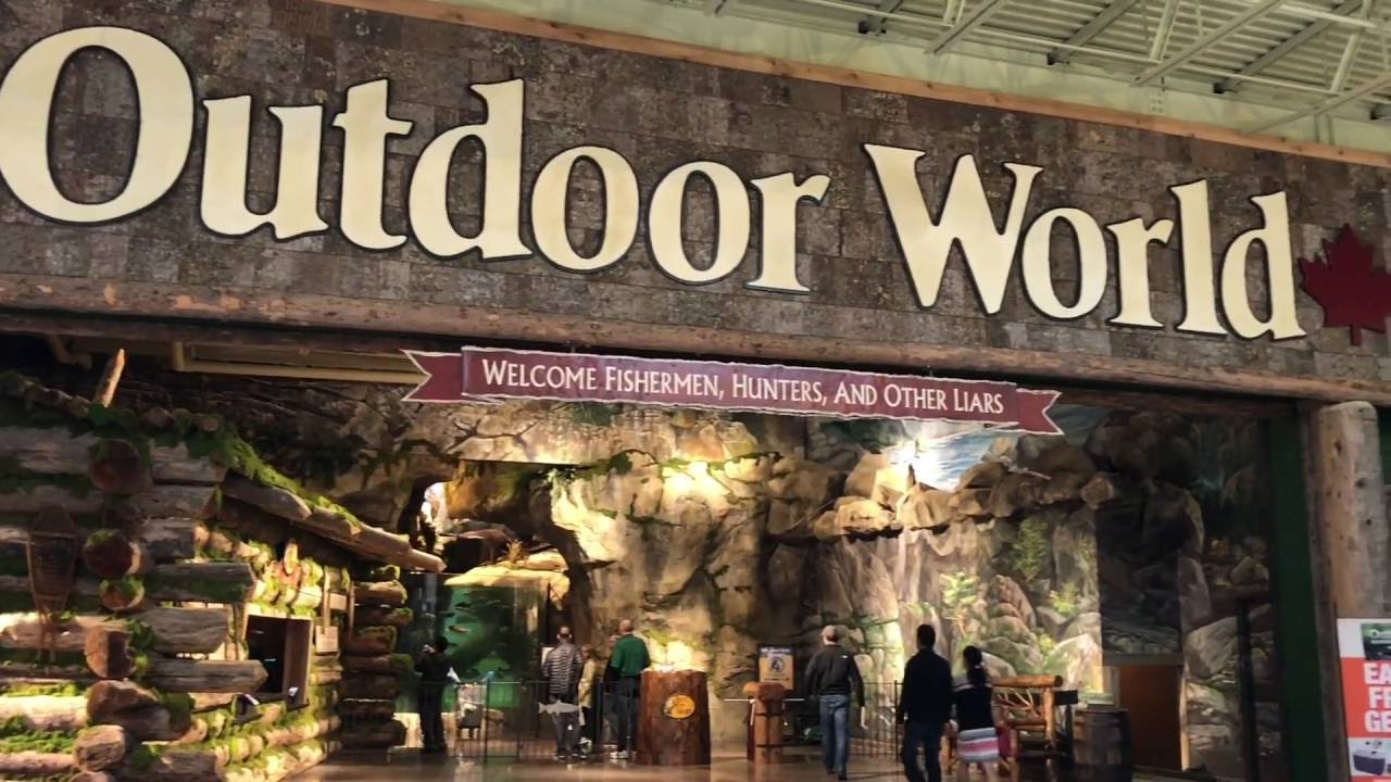 Bass Pro Shops OUTDOOR WORLD Open In TSAWWASSEN MILLS   YouTube