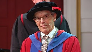 Dr Richard Henderson CH - Honorary Degree - University of Leicester