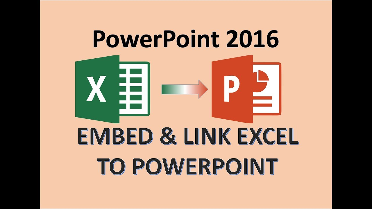 PowerPoint 20   Insert Excel in PPT   How to Link Sheet in Presentation    Create & Add Attach File