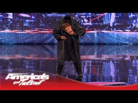 Kenichi Ebina Performs an Epic Matrix- Style Martial Arts Dance - America's Got Talent