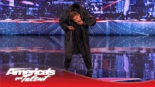 kenichi ebina performs an epic matrix style martial arts dance americas got talent