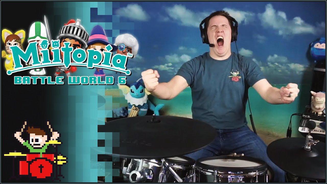 Miitopia - Battle World 6 On Drums!
