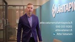 Vakuutuksien esittely vakuutusedustaja Atte Vatanen