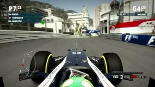 F1 2012 Gameplay Ita PC Gran Premio di Monaco - Messi alle strette -