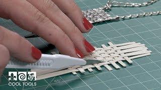 EZ960® Basket Weave Pendant by Karen Trexler