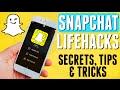 Snapchat Life Hacks! | MAJOR SNAPCHAT SECRETS REVEALED! Tips & Tricks 2015