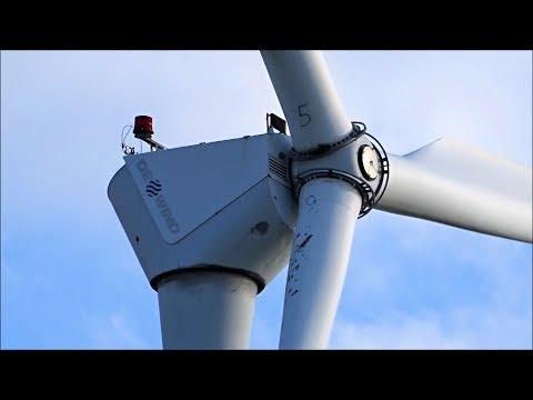 Wind Farm Hartmannsdorf With Dewind D4 48/600 Wind Turbines