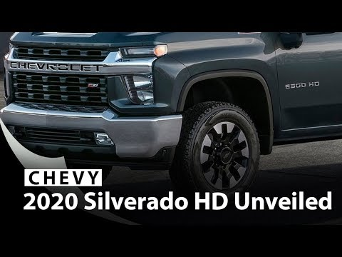 2020 Chevy Silverado HD Unveiled, Getting New V8 And Gearbox
