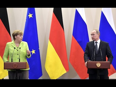 Answers to media questions following meeting with Federal Chancellor of Germany Angela Merkel (Sub)
