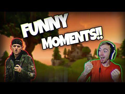 I TROLLED NUDAH! (Funny Fortnite Battle Royale Moments)