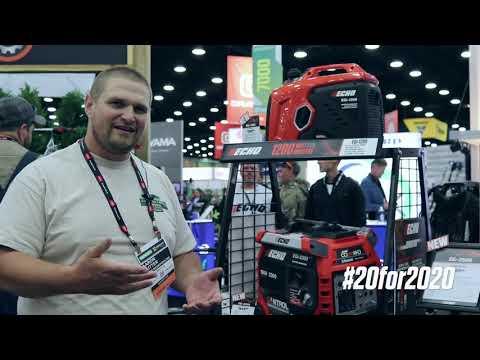 Aaron Sutter Review Of EGI-2300 Generator - ECHO GIE+EXPO