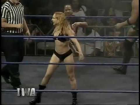 IWA: Ray González & Invader #1 vs. Victor The Bodyguard & Chet Jablonski (2004)